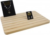 Z-C5.5 PK424-036A Wooden Display for Cards 33.5x23.5cm