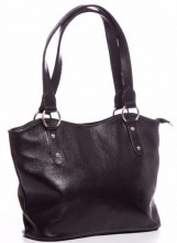 R-A5.2 BAG-553 Leather Bag 40x28x11cm Black