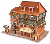 G-D20.1 W3119H 3D Puzzle Fashion Shop France - 31pcs