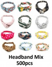 Headbands Mixed Styles 500pcs