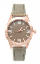B-B8.3 B442-002 Quartz Watch with PU Strap 32mm Khaki