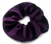 S-C6.2 H305-009T Velvet Scrunchie Purple