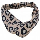 S-J3.3 H305-144A4 Headband Leopard Print Pink