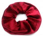 S-D3.4 H305-009 Scrunchie Velvet Red