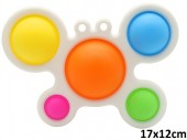 T-C4.1 XXL Fidget Pad - Mixed Colors - 18cm