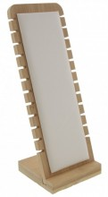 Z-B2.5  PK424-014 Jewelry Display Wood with PU 27x10x9.5cm