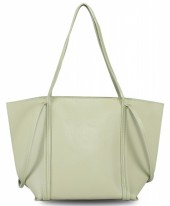 Y-D5.2 BAG417-012B PU Bag Light Grey
