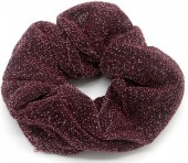 S-E7.3 H305-054 Scrunchie Glitters Purple
