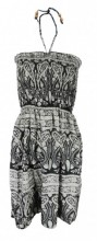 L-A2.2  Beach Dress with Beads Onze Size Fits All
