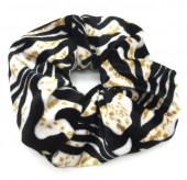 S-G3.4 H305-021 Velvet Scrunchie Animal Print