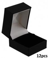 K-B2.1 220529 Luxury PU Gift Box for Rings 46x38x51mm 12pcs