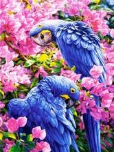 T-P4.1 GD74839 Diamond Painting Set Parrots 40x30cm