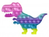 R-K7.2 T2106-005 Pop It Dino - Rainbow