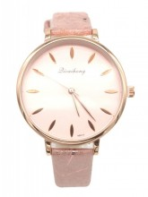 C-E4.5 W523-014 PU Quartz Watch 36mm Pink