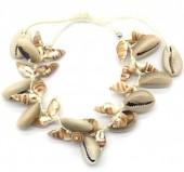 E-C9.2 B536-006 Rope Bracelet Lots of Shells