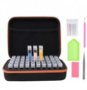 Y-E2.1 TOOL2112-052 Suitcase 17x21x7cm with 40 Jars