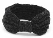 R-C4.1 H401-002A Knitted Headband Extra Soft Black