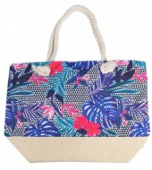 Y-B6.5 BAG528-011 Beach Bag Leaves 36x52cm