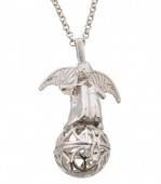 J-E8.3    Angel Catcher 16mm Silver N024-009