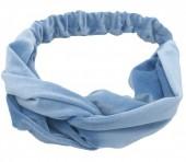 S-K1.4  H305-060A5 Velvet Headband Blue