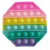 R-B3.2 T2106-005 Pop it Octagon - Rainbow