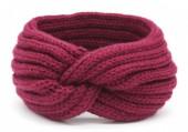 R-A7.2  H401-001H Knitted Headband Purple