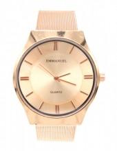D-E15.2 W001-035 Metal Quartz Watch 40mm Rose Gold