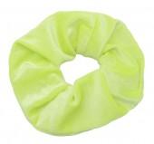 S-A5.2 H305-009X Velvet Scrunchie Neon Green
