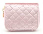 X-H8.2  WA321-003 Small Velvet Wallet Pink