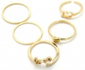C-C18.4 R426-004G Ring Set 5pcs Gold #18