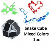 Snake Cube - Mixed Colors - 1pc