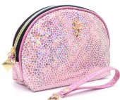 Y-F3.2 BAG200-016 Make Up Bag Shiny Pink