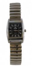 F-D16.2 Quartz Watch Stretch Bracelet 35x25mm Silver