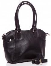T-J1.2  BAG-788 Luxury Leather Bag 39x24x10cm Black