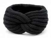 Y-A2.3 H401-001A Knitted Headband Black