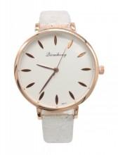 C-E6.2  W523-014 PU Quartz Watch 36mm White