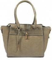 Q-P8.2 BAG121-002 Luxury PU Bag Green 42x27cm