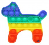 T-P4.2 Pop It Dog- Rainbow