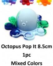 Z-E3.5 T2106-006 Octopus Pop It - Mixed Colors - 1pc