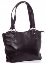 T-M1.2  BAG-553 Leather Bag 40x28x11cm Black