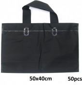 T-C4.2 Deluxe Plastic Bags 50pcs Black 50x40cm