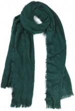 SCARF408-002A Soft Fluffy Scarf 65x180cm Green