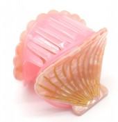 X-K5.1 H413-047F Hair Clip Shell 4.5cm Pink