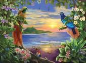 R-N3.2 X235 Diamond Painting Set Paradise Birds 40x30cm