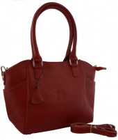 T-H5.2 BAG-788 Luxury Leather Bag 39x24x10cm Red
