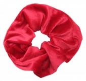 S-F1.3 H305-009 Scrunchie Velvet Red