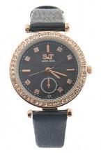 A-F19.2 W523-063 Quartz Watch 32mm with Crystals Black