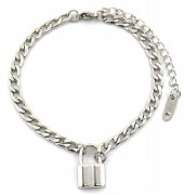 F-A7.3 BN2033-020AS S. Steel Bracelet with 16mm Lock  Silver