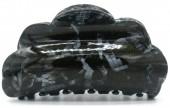 S-F3.4 H413-012E Hair Clip 8.5x4cm Black