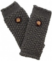 J-D2.2 Hand Warmers with Glitters Grey